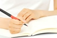 写真:学習スタート!専用ページからログイン。練習を開始します。